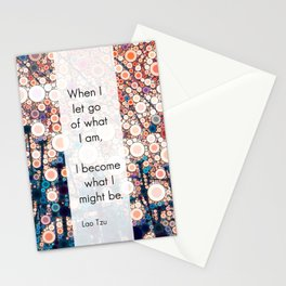Daily Meditation Quote Stationery Cards