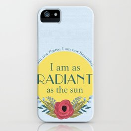 As the Sun iPhone Case