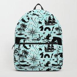 High Seas Adventure // Teal Waves Backpack