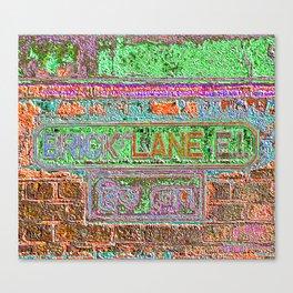 Brick Lane 3 B Canvas Print