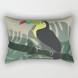 El Tucano Rectangular Pillow