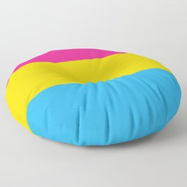 Pansexual flag Floor Pillow
