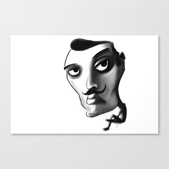 Imposter with a fake M... Canvas Print