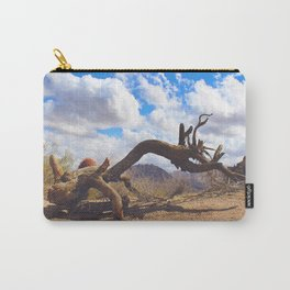 Hiking in Arizona Carry-All Pouch