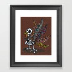 Pavo De Los Muertos Framed Art Print