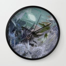 Dreaming in Shades of Lavender Wall Clock