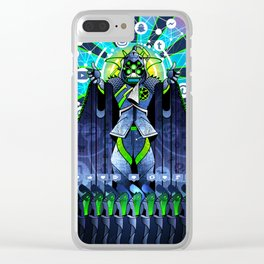 NEO-GODS : God of Social Networks Clear iPhone Case