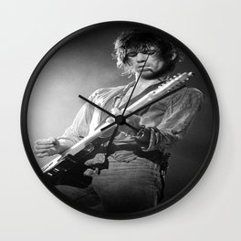 KeithRichards Poster, The Rolling Stones Wall Clock