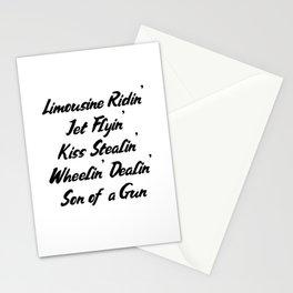 Limousine Ridin Jet Flyin Son of a Gun Stationery Cards