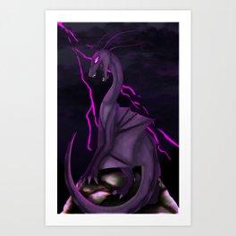 overlord Art Print