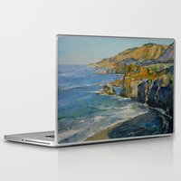 big sur Laptop & iPad Skins featuring Big Sur by Michael Creese
