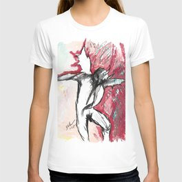 A Demon Dances T-shirt