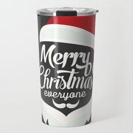 Merry Cristmas Travel Mug