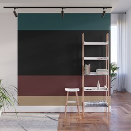 Contemporary Color Block XII Wall Mural