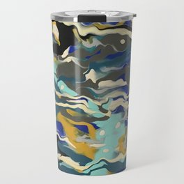 Marble Saudade Travel Mug