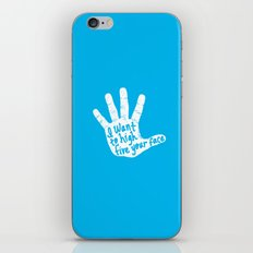 Hand to Face iPhone & iPod Skin