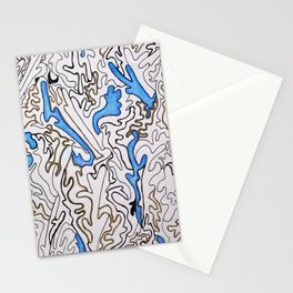 Abstract Pattern #1 Stationery Cards