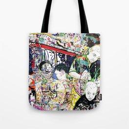 Neighborhood Series of Drawings Tote Bag