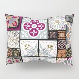 Moroccan Tile Pattern Pillow Sham