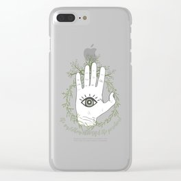 Adam, The Magician - The Raven Cycle Clear iPhone Case