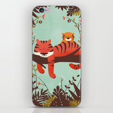 Sleeping Tiger iPhone Skin