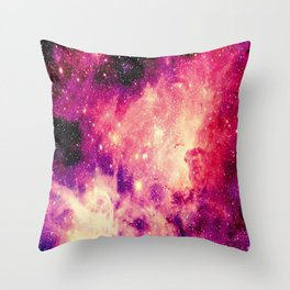 Galaxy : Carina Nebula Throw Pillow