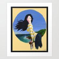 Summer Breezes Art Print