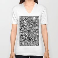 vertigo V-neck T-shirts featuring Vertigo by András Récze