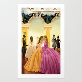 Palatial loves Art Print