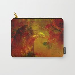 Melancholic crow Carry-All Pouch