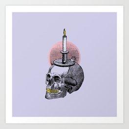 Lavender Cadaver Art Print