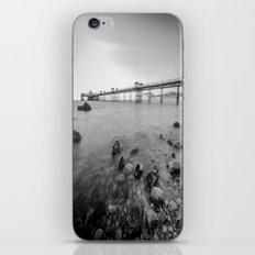 Llandudno Peir Bw iPhone & iPod Skin