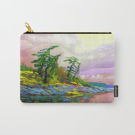 Wind Sculpture by Amanda Martinson Carry-All Pouch