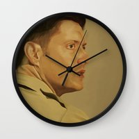 military Wall Clocks featuring Military Dean by mycolour