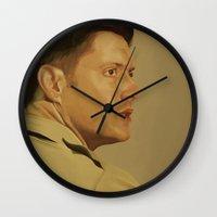 military Wall Clocks featuring Military Dean by mycolour