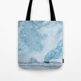 Icy Thunder Tote Bag