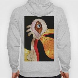 Pelican eats fish Hoody
