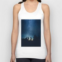 stars Tank Tops featuring Follow the stars by HappyMelvin