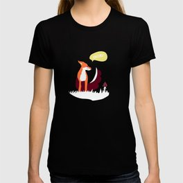 party animals - english fox T-shirt