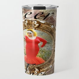 Queer as in Fuck You - Divine Travel Mug