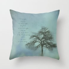 Ms. Treebestrong  Throw Pillow