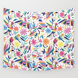 Creatures Otomi Wall Tapestry