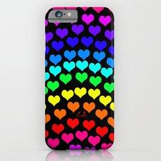 Coeurs d'Arc-en-ciel Slim Case iPhone 6s