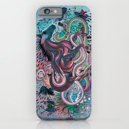 Poetry in Motion iPhone Case