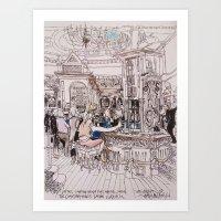 Counting House Pub London Art Print
