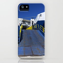 Ionian ferry Ramp iPhone Case