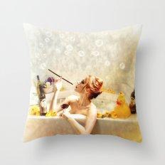 RubaDubDub  Throw Pillow