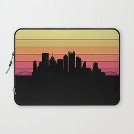 Pittsburgh Skyline Laptop Sleeve