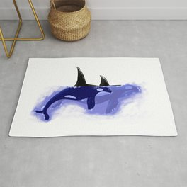 Orca Whales Rug