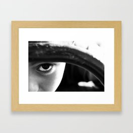 Playgrounds Framed Art Print